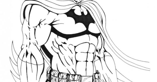 batman coloring pages for adults - photo#31