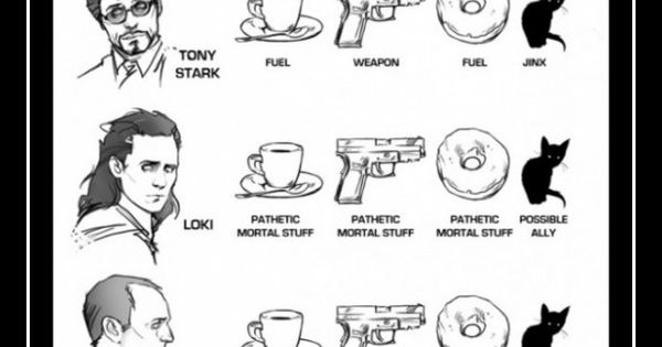 Agent Coulson made me laugh. Weapon, weapon, weapon, and weapon