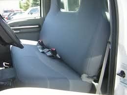 Durafit Seat Covers 1999 2007 Ford F250 F550 Work Truck Front Solid Bench Seat Custom Exact Fit Seat Covers Gray Charcoal Work Truck Ford F250 Seat Covers