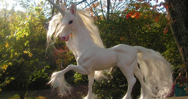 Life Size Unicorn Sculpture