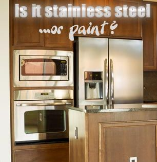 How To Paint A Refrigerator Stainless Steel Stainless Steel