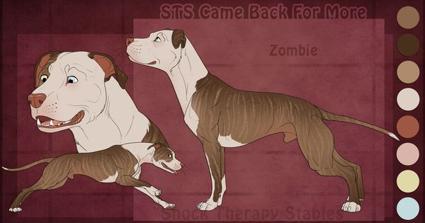 Sts Dog Zombie By Shocktherapystables On Deviantart In 2020 Dog Art Canine Art Dog Drawing