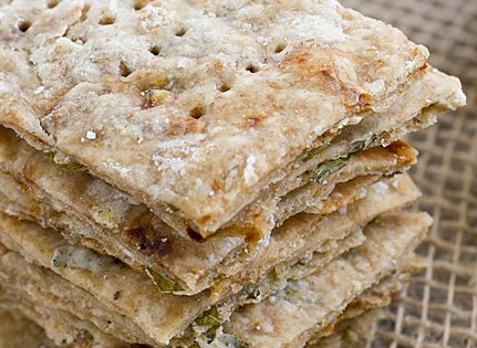 Basil & Sun-Dried Tomato Crackers | Recipe | Crackers, Basil and ...