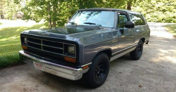 1990 Dodge Ramcharger 318 V8 Auto For Sale In Caryville Tn Dodge Ramcharger Dodge Suv