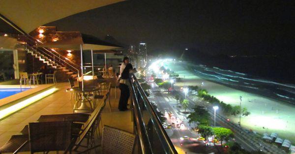 Cena Bar Situado Na Cobertura Do Arena Copacabana Hotel Rio De