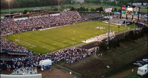 Lubbers Stadium Home Of The Gvsu Lakers Go Lakers Football