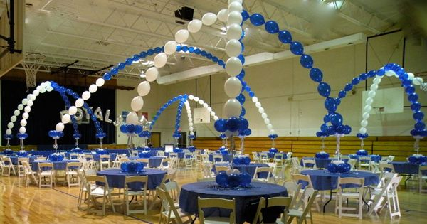 Decorating a gymnasium ceiling transform a plain gym for How can prom venues be decorated