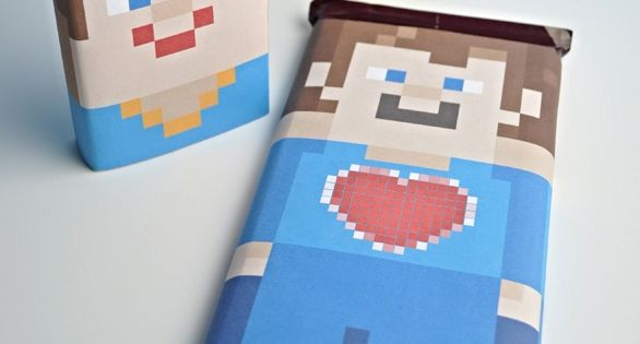 Minecraft Candy Wrapper Valentines at Club Chica Circle ...