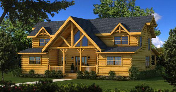 River rock tf log cabin floor plan southland log homes for River cabin plans