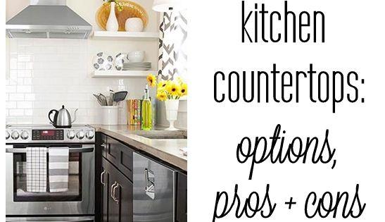 centsational girl blog archive kitchen countertop. Black Bedroom Furniture Sets. Home Design Ideas