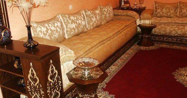 salon marocain traditionnel vendre en ligne salon marocain pinterest salon marocain as. Black Bedroom Furniture Sets. Home Design Ideas