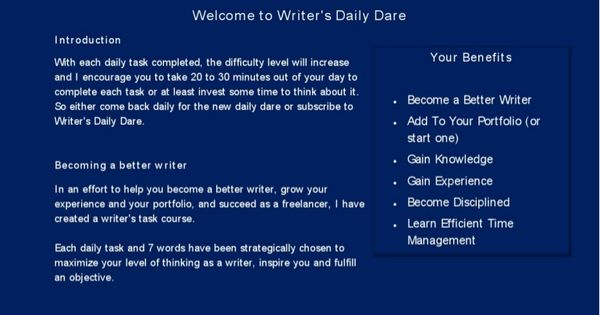 Starting a business essay