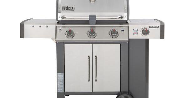 Weber Rolls Out New Genesis Ii Gas Grills Gas Grill Grilling Weber Genesis Grill