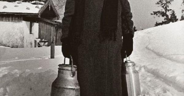 Milk maid (untitled,1950s by herbert list).