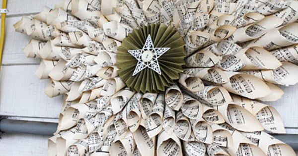 DIY:: Holiday Decor Star The East Alton Women's Club used to make