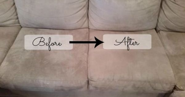 how to clean a polyester microfiber couch