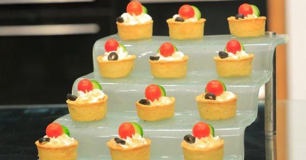 Cbc Sofra طريقة تحضير ميني تارت الجبن غادة التلي Recipe Desserts Mini Cheesecake Recipes