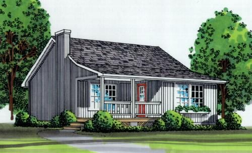 Lakeview Cabin Plan Cottage Style House Plans Vacation House Plans Cottage Plan