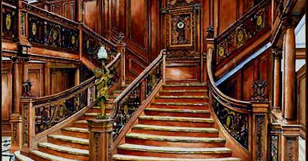 Titanic 1st Class Grand Staircase