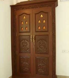 Double Door Design Home 44 Ideas For 2019 In 2020 Pooja Room Door Design Room Door Design Pooja Room Design