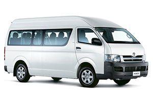 Toyota Hiace Toyota Hiace Mini Bus Transportation Services