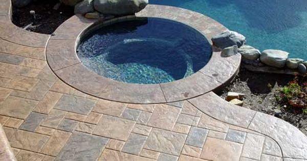 Pool Deck Resurfacing With Concrete Coatings Concrete Pool
