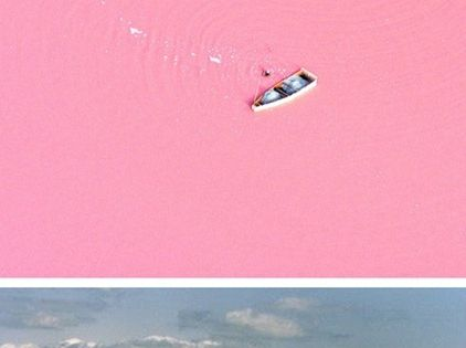What!! There is a pink lake and no one told me! I
