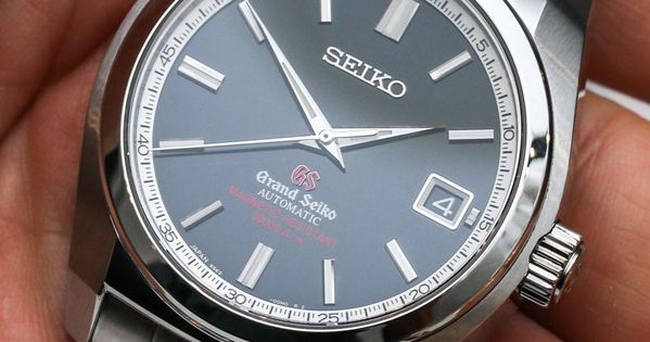 Grand seiko sbgr077 sbgr079 magnetic resistant watches hands on on while for Magnetic watches