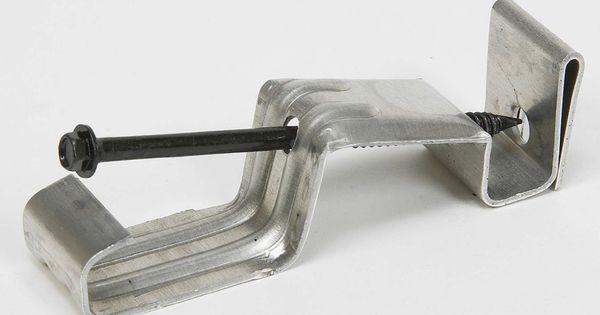 Amerimax Galvanized Steel Gutter Hidden Hanger Lowes Com Galvanized Steel Gutter Hanger