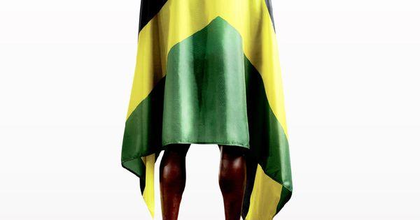 Puma: Usain Bolt. Beautifully composed print ad.