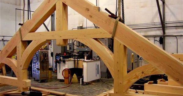 Hammer Beam Timber Truss Specialty Beams Timberframe