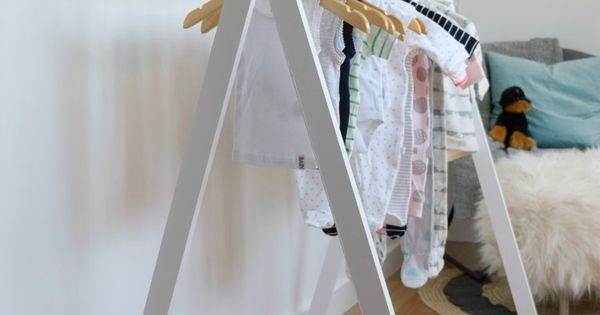 DIY Kids Teepee Clothing Rack  옷장, 가구 및 창조적인