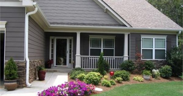 landscaping ideas for front of house | Landscaping Ideas - Front Yard