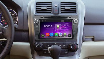 How To Replace 2006 2007 2011 Honda Crv Radio With Bluetooth Navigation System Honda Crv Honda Crv Accessories Navigation System