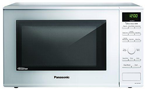 Panasonic Nn Sd654w White 1200w 1 2 Cu Ft Countertop Microwave