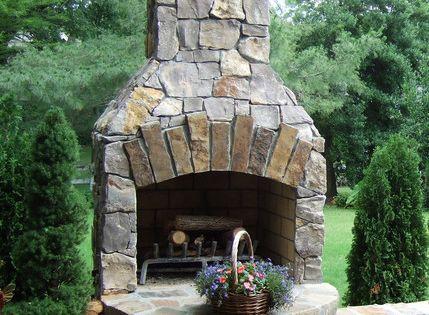 24 Veranda Series Outdoor Fireplace Kit With Unique