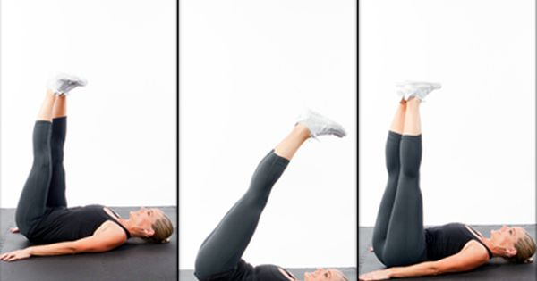Triangle Hip Press - Fast Abs Workout: 5-Minutes to a Flat Stomach