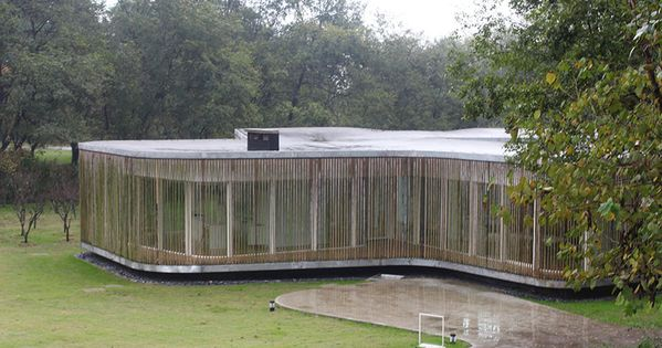 bamboo clad fo shou house at sifang art museum by mansilla y tu on    Arch in love   Pinterest   Museums  Architecture and Art. bamboo clad fo shou house at sifang art museum by mansilla y tu on