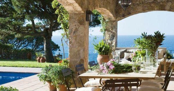 60 Photos Comment Bien Am Nager Sa Terrasse Terrasse Arches Et Belle