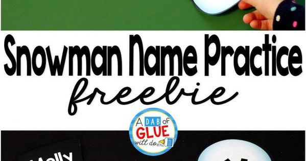 ... Name Building Practice Printable | Activities, Preschool and Student