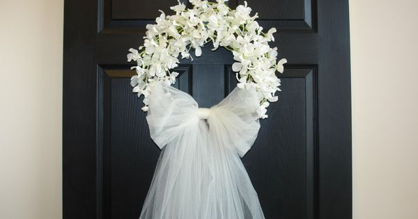 Outdoor Country Wedding Shower Ideas: First Communion Wreath Wedding Wreaths Front Door Wreaths