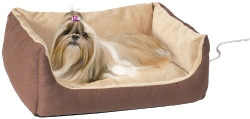 58 04 62 50 K H Thermo Pet Cuddle Cushion We Ve Taken Heated Comfort To New Levels With The Thermo Cuddle Cush Heated Dog Bed Pets Cuddling Heated Pet Beds