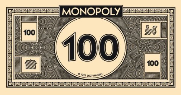 Free Monopoly Printable Money For Work Pinterest