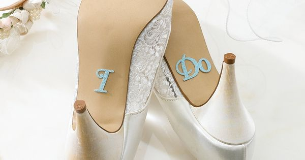 "Lillian Rose® ""I Do' Shoe Stickers"