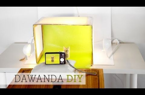 dawanda diy fotobox whitebox youtube blogger. Black Bedroom Furniture Sets. Home Design Ideas