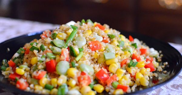 Bulgur Wheat Succotash | Vegetables/Sides/Salads/Soups ...