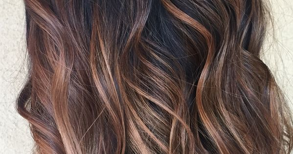 Brun Balayage Ombr Pinterest Beautiful T Et Cheveux Bruns