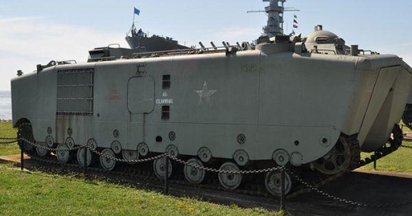 Battleship Memorial Park 64 Ltvp5a1 Amtrac Military Vehicles Armored Fighting Vehicle Battleship
