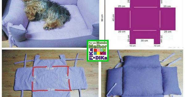 hundebett selber machen kostenloses tutorial anleitung. Black Bedroom Furniture Sets. Home Design Ideas