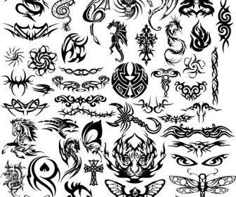 Tribal Tattoo Templates Vector Dragon Tattoo Vector Tribal Dragon Tattoos Tribal Tattoos